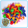 105 Pcs DIY Construction Marble Tracks Marble Race Run Toy Children Track Ball Marbles Pipe Blocks Kids Educational Game Gifts flash sale