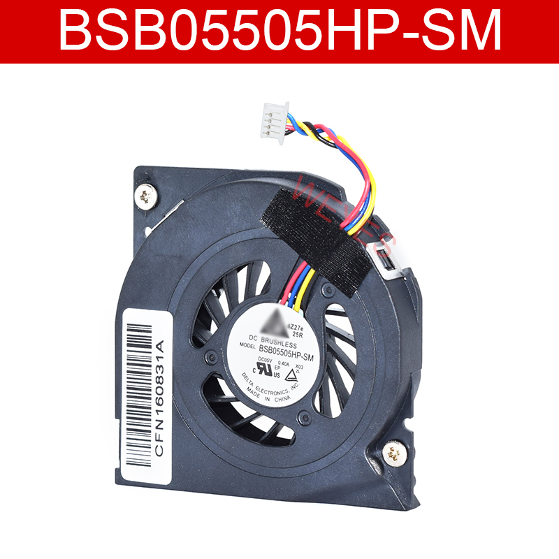 Genuine For BSB05505HP-SM  DC05V 0.40A Two Lines  Cooling Fan