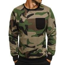 Новинка Камуфляжный мужской свитер цифровая Военная тактическая