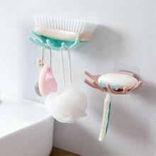 Домашняя Ванная комната Душ пять пальцев мыло коробочка, мыльница чехол для хранения мыло держатель Ванная комната поднос аксессуары коробка полка настенная посуда