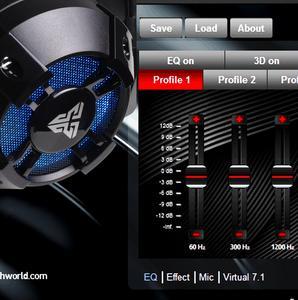 Image 5 - Fantech HG11 プロフェッショナルゲーミングヘッドフォン仮想 7.1 チャンネルサラウンド低音ステレオゲーミングヘッドセットマイク rgb usb イヤホン