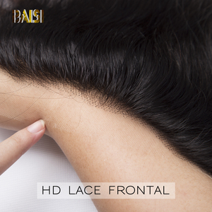 Image 4 - BAISI HD Lace Frontal Brazilian Straight Virgin Hair 13x4 Pre Pluck Hairline With Baby Hair Body Wave Transparent Lace Frontal