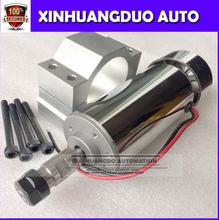 цена на 52mm cnc spindle 400w ER11 chuck DC 12-48v 400W Spindle motor cnc for Engraving Machine + clamp ER11 3.175MM for PCB Engraving