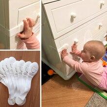10 piezas/cerradura de seguridad para el cuidado de la seguridad del bebé, cierre de plástico con protección del bebé, cajón, puerta, armario, inodoro de armario