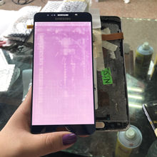 5.7 ''Original Amoled LCD untuk SAMSUNG Galaxy Note 5 N920 N920F N920A N920C LCD Display + Sentuh Layar Digitizer + Burn-In Shadow(China)