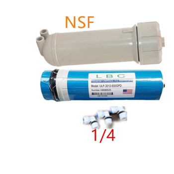 600gpd water filter cartridge ULP3102-600 ro membrana osmosis inversa 1/4 filter NSF water filter housing reverse osmosis filter