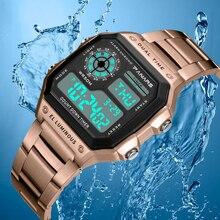 Luxury Brand Men Sport Watch Chrono Business Electronic Digital Wristwatches Men