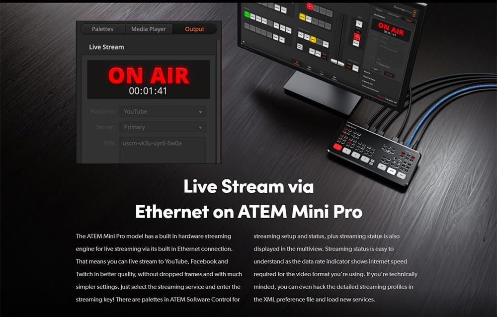 Blackmagic Design ATEM Mini Pro 8