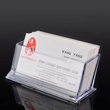 Storage-Box Business-Card-Seat Acrylic Case Table Exhibition Transparent