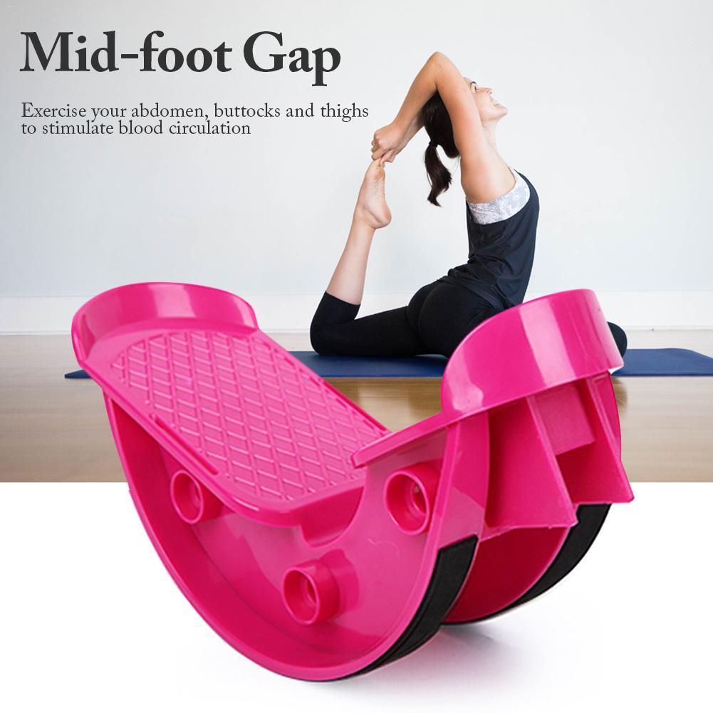 Йога фитнес-Спорт Массажная педаль для ног рокер носилки для ног ниже икры педаль для фитнеса идеально подходит для лечения травм