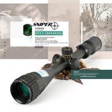 New Optic Sight Scope SNIPER 4.5-18X44AOGL Chasse Telescope Rifle Scope Air Rifle Spotting Hunt Scopes Riflescope Sniper держатель на шлем bbb helmet для фонаря strike sniper swat scope