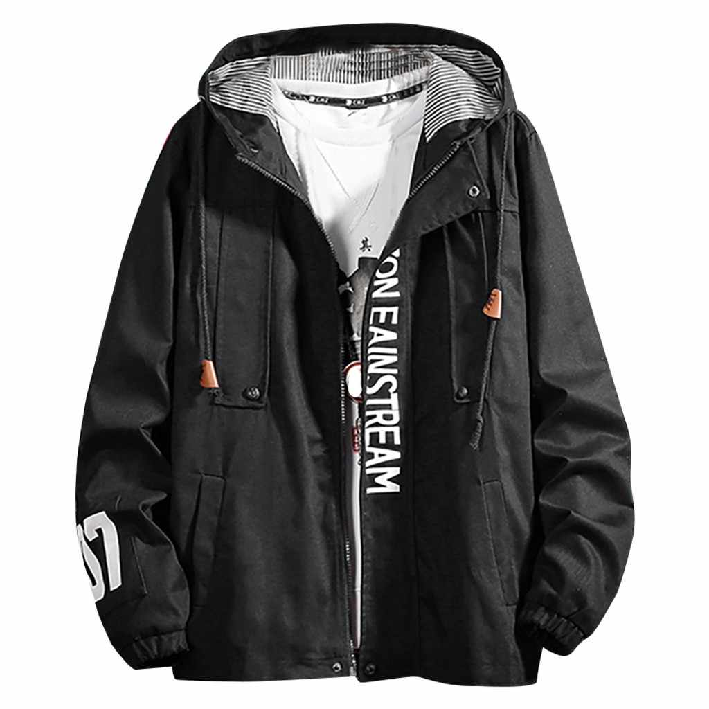 Männer Baseball Jacke Kordelzug casual Mäntel Slim Fit College lose Luxus Pilot Jacken männer hoodies sweatshirt Top Jacke Mantel