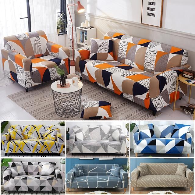 Фото чехол для дивана хлопковый с цветочным принтом диван полотенца