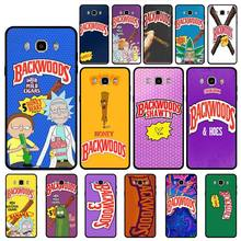 Babaite rick and morty backwoods Honey silicone case for samsung galaxy s3 s4 s5 s6 s7 edge s8 plus s9 mobile phone accessories