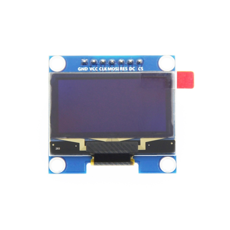 5pcs 1.3 Inch White OLED Module SSD1106 Drive IC Compatible With SSD1306 IC 128*64 IIC/SPI Interface