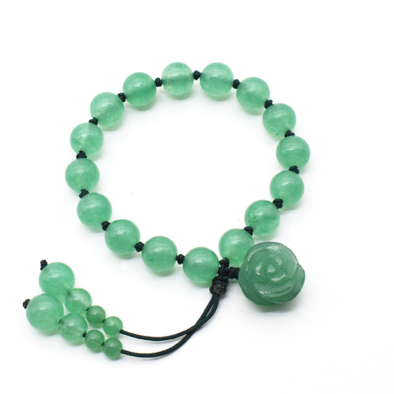 2020 Natural Dongling Jade Bracelet With Green Jade Rose Jade Jewelry