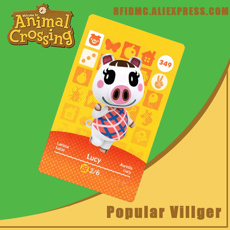 349 Lucy Animal Crossing Card Amiibo For New Horizons