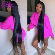 Celie Steil Haar Bundels Remy Human Hair Extension 28 30 32 34 36 38 40 Inch Bundels Straight Braziliaanse Haar weave Bundels