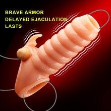 Dick Vibrating Sleeve For Men Dildo Extender Reusable Penis Ring Intimate Goods Penis Enlargement Rings Cock Massager Adult Toys
