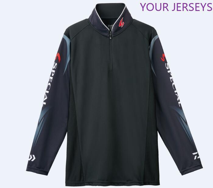 Daiwa New Men Brand Fishing Clothing UV Protection Moisture Wicking Breathable Long Sleeve Shirt Camisas Pesca Pesca DAIWA Pesca