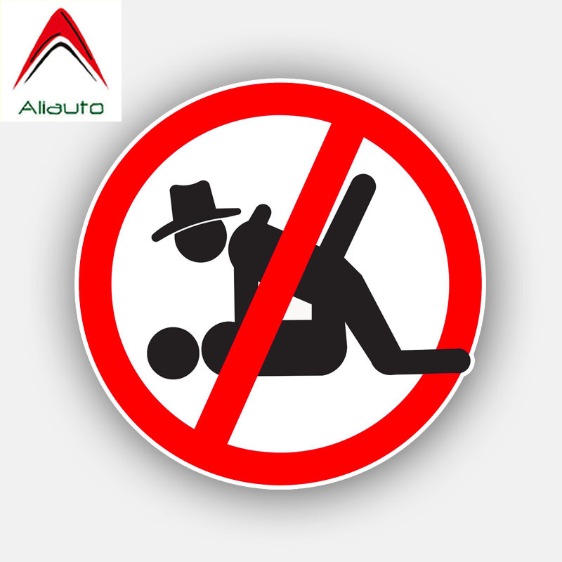 Aliauto <font><b>Funny</b></font> Car <font><b>Sticker</b></font> No <font><b>Sex</b></font> Decoration Vinyl Decal Cover Scratches for Smart Fortwo Bmw X6 Audi A3 Ford Focus,12cm*12cm image