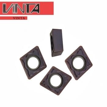 ZZZCT boring CNC lathe CCMT060204 060208-EM YBM253 special for stainless steel turning YBM253 153 YBG205 202 CCMT060208-EM CNC