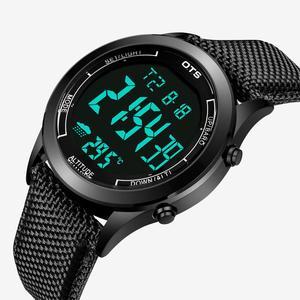 Image 2 - Ots Mannen Sport Horloges 30M Waterdichte Digitale Led Militaire Horloge Mannen Mode Toevallige Elektronica Horloge