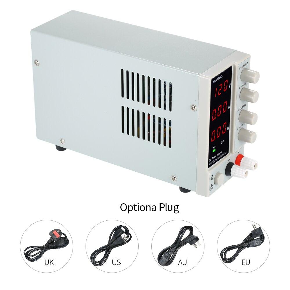 NPS1203W 0-120V 0-3A 115/230V commutation alimentation cc 3 chiffres affichage LED haute précision réglable Mini alimentation