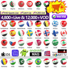 IPTV France Belgium Netherlands SUBTV Subscription Code for Android M3u Portugal Spain Italy Arabic IP TV