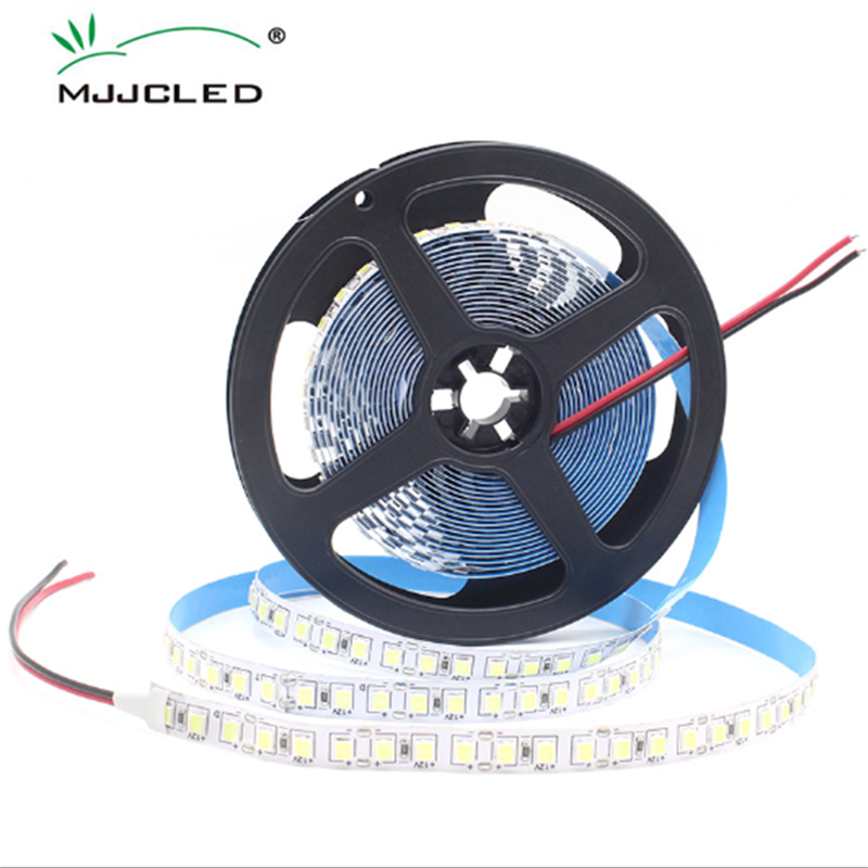 0.5M 1M 2M 3M 4M 5M Non-Waterproof LED Strip Light SMD4040 Flexible LED Tape Brighter Warm/Cool White DC 12V For Indoor Home
