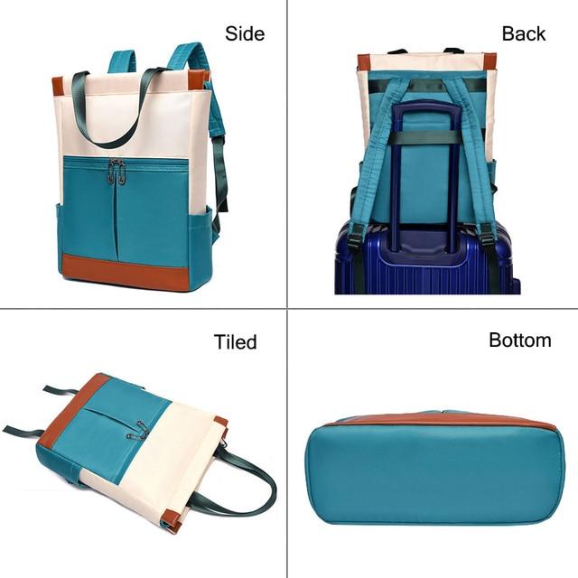 Oxford Women Backpacks Girls Book Bags Fashion Lady Shoulder Backpack Waterproof Anti-theft Business Bag Teenage Girl Laptop Bag 2