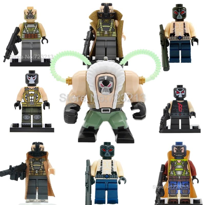 DC Bane Batman Figure Single Sale Super Heroes Superhero Model Set Building Kits Blocks Toys For Children PG378