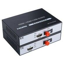 1 paar 1 Kanal HDMI zu Faser Konverter 1080P HDMI Glasfaser Video Extender Video Converter HDMI Video Faser transceiver