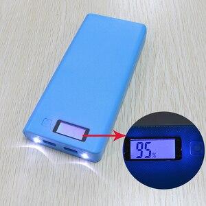 Image 5 - Kebidu Novo Multi cor 8*18650 Caixa de Bateria Shell Banco de Potência De Lítio ion Portátil Display LCD Externo caixa Sem Bateria