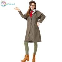 Halloween costume cosplay Sherlock Holmes parent child costume movie cosplay costume lovers