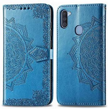 Luxury Flip For Samsung Galaxy A01 A11 A21 A31 A41 A51 A71 Leather Protector Wallet Case Samsung A30 A50 M11 M21 M31 A21S Case image