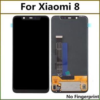2248x1080 Black LCD Display For XIAO MI 8 8 LITE LCD Display With Touch Screen Digitizer Assembly For Xiaomi 8 Mi8 LCDs