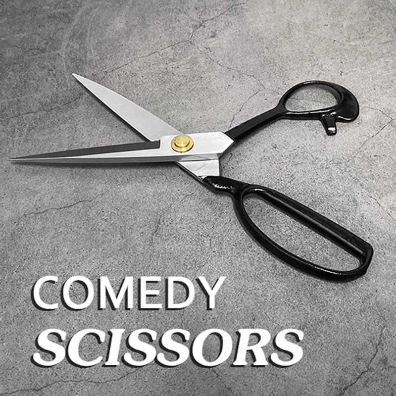 Comedy Scissors Magic Tricks Stage Close Up Magia Appearing Magica Illusions Gimmick Props Can Used To Cut Rope Routine Magie