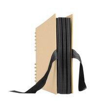 Style Commemorate Black Creative Album Photo Storage Notebook 40 Pages Decoration Sturdy Brown Souvenir DIY Scrapbook