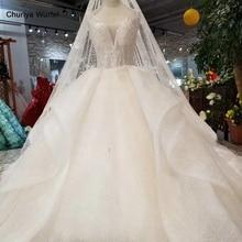 LS76433 специальная юбка свадебные платья с вуалью с О образным вырезом рукавами v back бальное платье с цветами свадебные платья