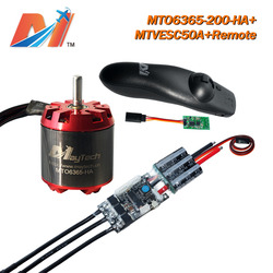 Maytech off road longboard 6365 200KV electric motor and motor controller SuperESC based on VESC and remote controller
