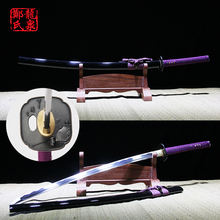 Japanese katana real samurai swords High quality high carbon steel blade sharp full tang published wooden sheath