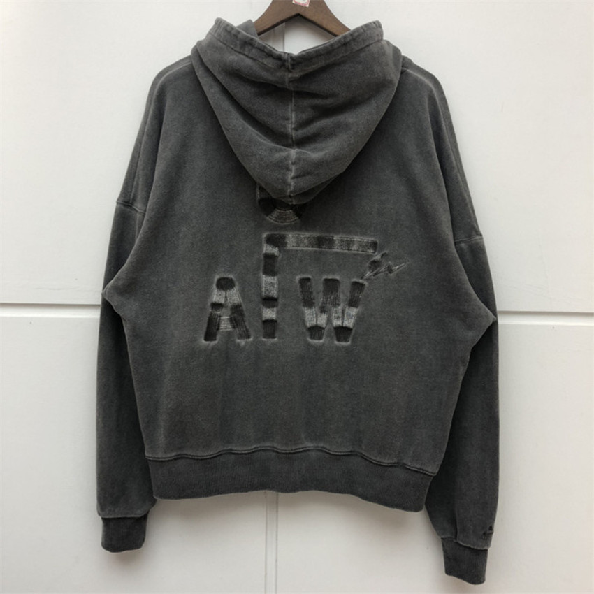 19ss ACW INS Street A Cold Wall Embroidered Terry Sweater Men Women