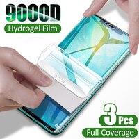 Pellicola salvaschermo per Huawei P30 Pro P40 P20 Lite Nova 5T pellicola idrogel per Honor Mate 20 30 40 Pro Lite 10 i 8X protezioni di schermo pellicola non in vetro accessori del telefono mobile