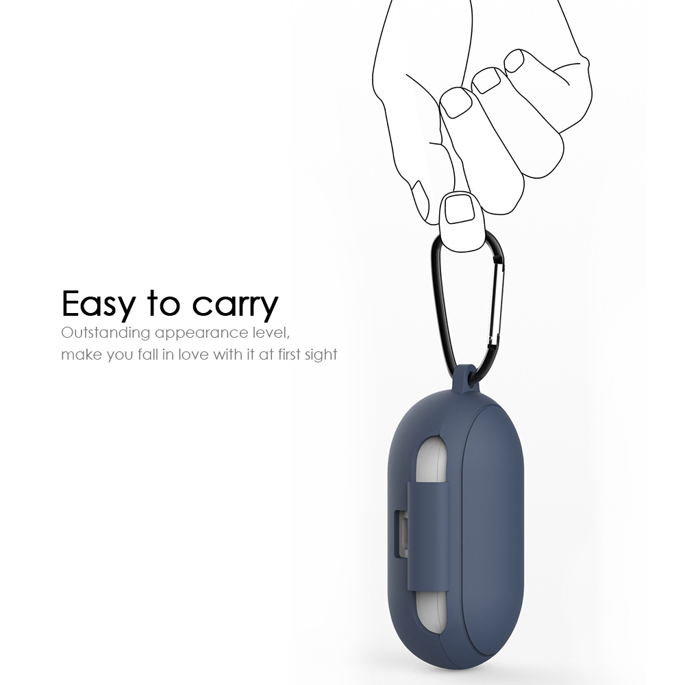 Силиконов защитен калъф за Samsung Galaxy Buds - Преносимо аудио и видео - Снимка 3