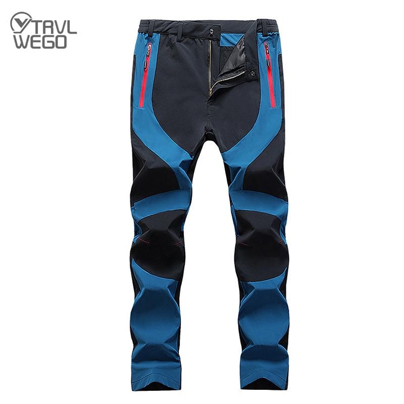 WANPUL Pantalon Trekking Hombre Mujer Zip Off Extra/íble Pantalon Senderismo Secado R/ápido Pantalones Monta/ña con Cintur/ón