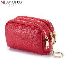 Change Wallet Purses Women Luxury Handbags Keychain Money-Bag Zipper Multifunction Mini