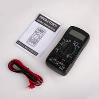 XL830 Mini Digital Multimeter 1999 Counts AC/DC Voltage Current Resistance Frequency Tester True RMS NCV Meter -