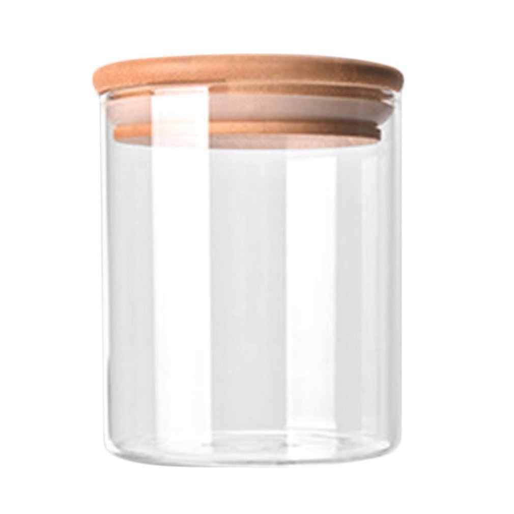 Practical Kitchen Storage Bottle Portable Size Store Food Ingredient Candy Biscuit Refrigerator Classification Storage Jar