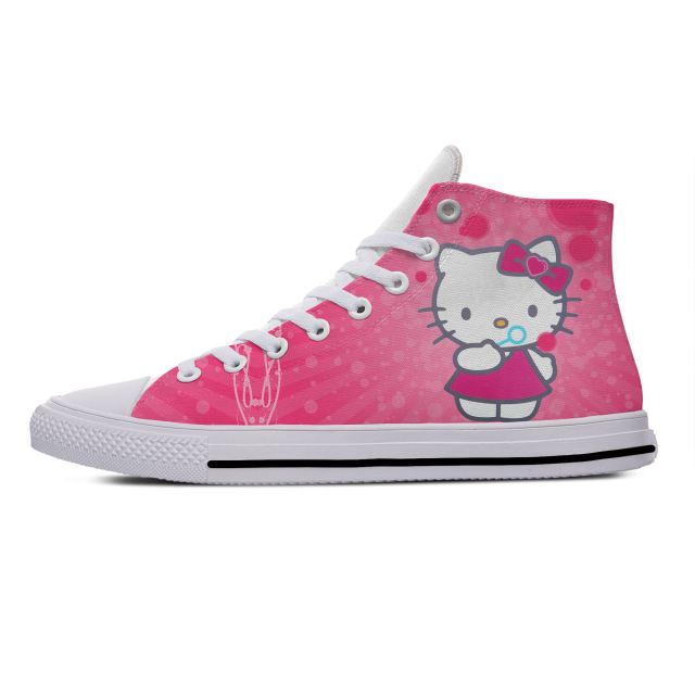 HELLO KITTY THEMED HIGH TOP SHOES (20 VARIAN)